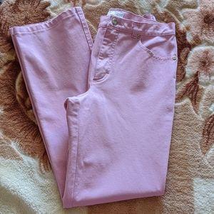 {Escada} Pinkish Lavender Jeans